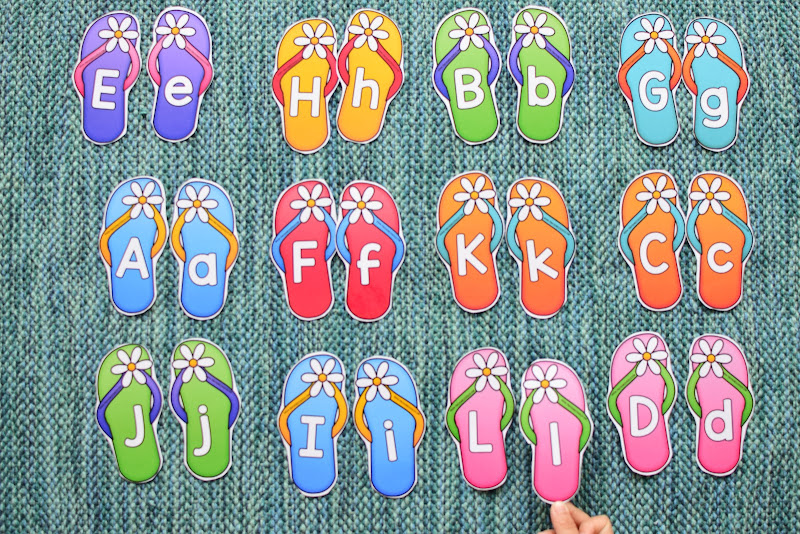 SUMMER THEMED LEARNING: UPPERCASE AND LOWERCASE MATCH