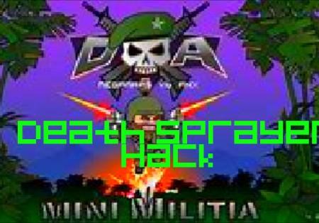 Mini Militian Pro-Mini militia death sprayer