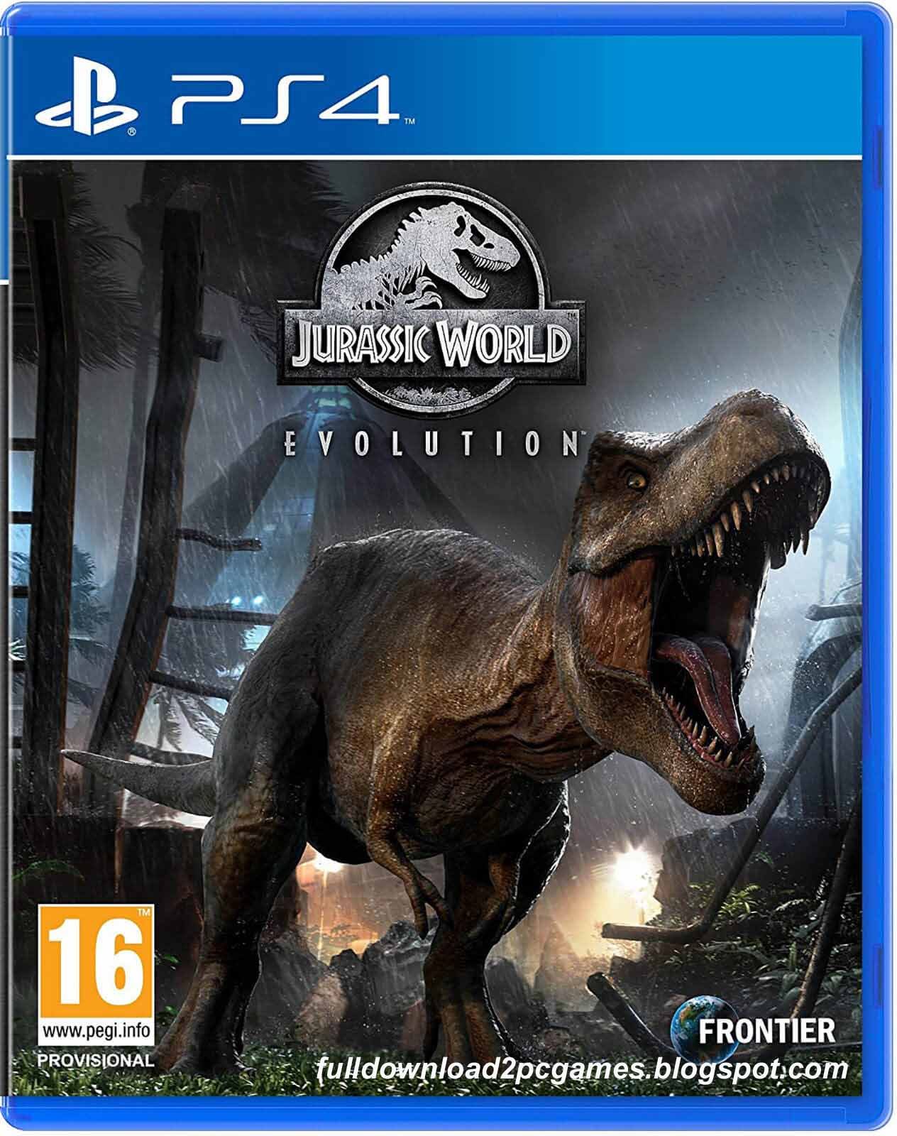 This Is A Wonderful Business Simulation Video Game Developed And Published Frontier Devel Jurassic World Evolution Free Download PC Game- CODEX