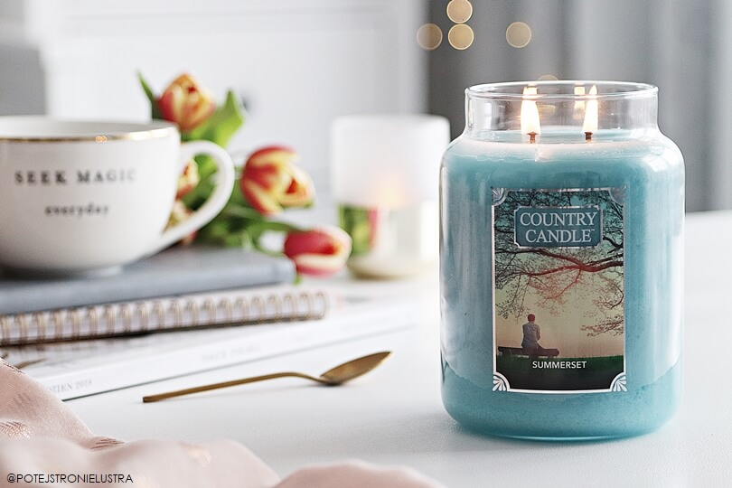 świeca country candle summerset