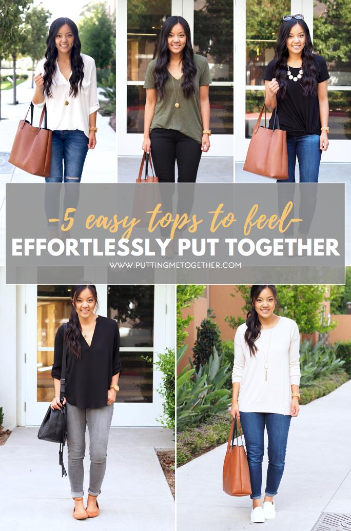 5 Tops to Look Effortlessly Put Together