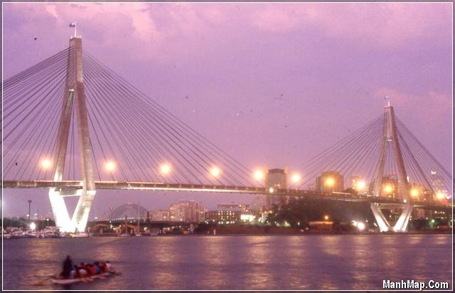Cầu Rạch Miễu - Bến Tre