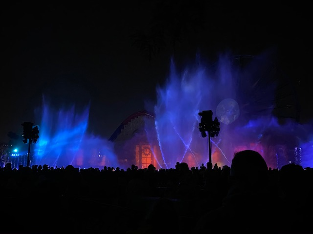 World of Color Show in California Adventure
