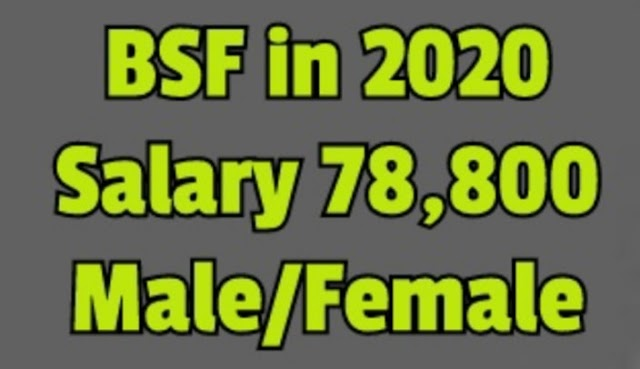 bsf new vacancy 2020 - BSF vacancy after 10th or 12th pass apply now