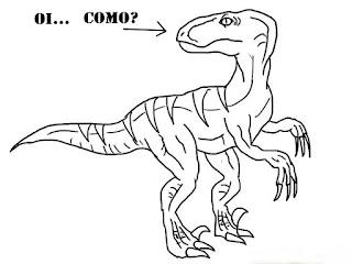 desenho, mamíferos, dinossauros