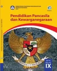 Buku PPKN Siswa Kelas 9 k13 2018