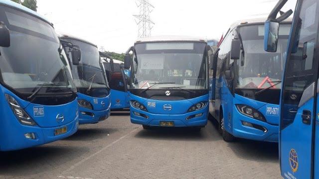 Tayangkan Iklan Vulgar, 59 Bus TransJakarta dari China Zhongtong Dikandangkan