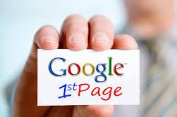Cara Agar Blog DiHalaman Pertama Google