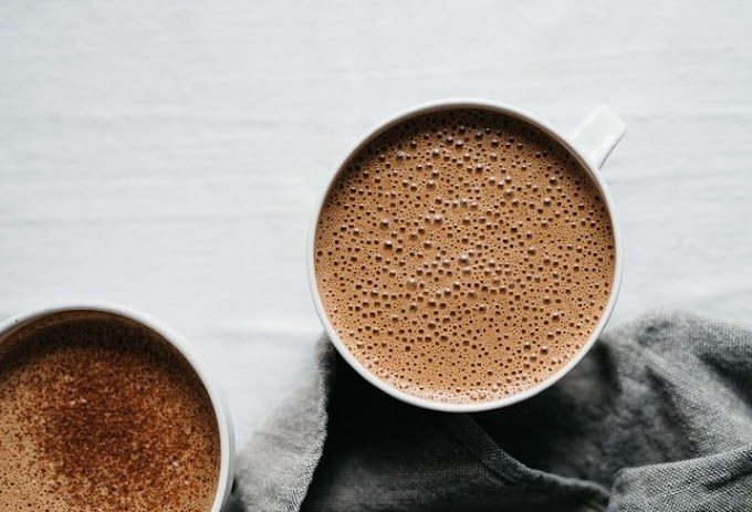 Almond Orange Hot Cocoa #drinks #hotchocolate