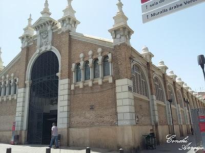 Edificio del Mercado de Murcia de estilo modernista
