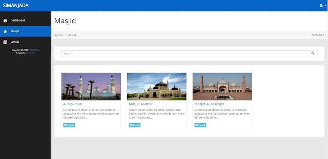 Manajemen Data Masjid