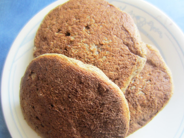 Banana Buckwheat Pancakes by Raia's Recipes