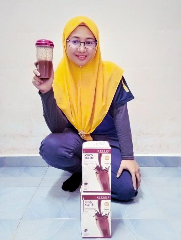 Kebaikan Kitsui Coco XsLite Membantu Penurunan Berat Badan