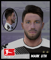 PES 6 Faces Mark Uth by Gabo Facemaker