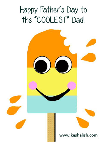popsicle card for kids to make