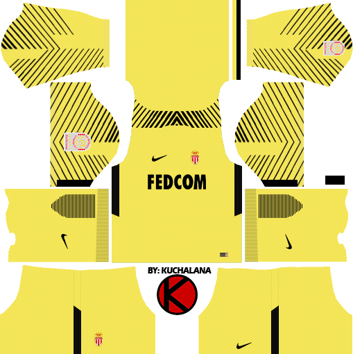 3f69fc374eb AS Monaco FC Nike Kits 2017/18 - Dream League Soccer - Kuchalana