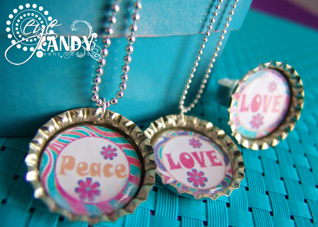 peace party necklaces, peace party favors