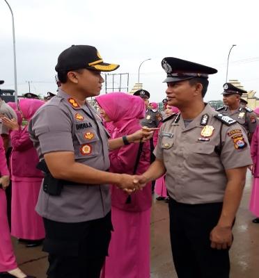 138 Personel Polres Serang Kabupaten dapat Kenaikan Pangkat