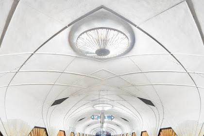 モスクワの美しい地下鉄の駅 PART1