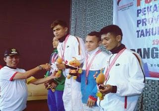 Keperkasaan Tim Judo Porprov Sumbar Asal Kota Padang Makin Terlihat