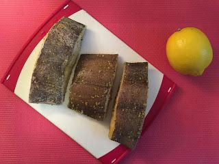 Mero asado con limón - ingredientes
