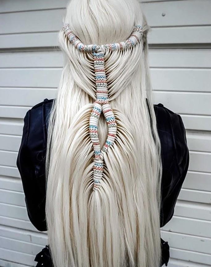 peinados con accesorios del pelo 2020