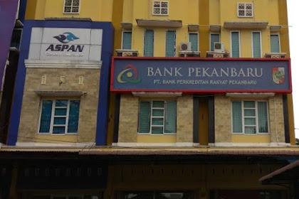 Lowongan Kerja PT. Bank Perkreditan Rakyat Pekanbaru Agustus 2019