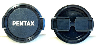 Pentax Label 49mm Side Squeeze Front Lens Cap
