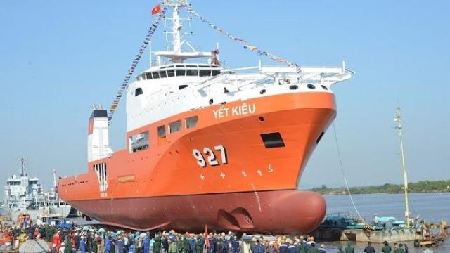 Mengenal Kapal Penyelamat Yet Kieu Untuk Kapal Selam Milik Vietnam