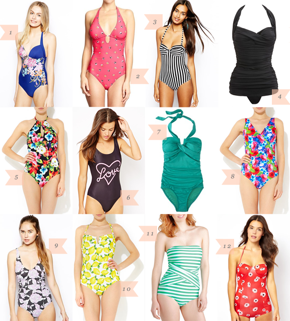 7bb3d68b34a03 Über Chic for Cheap: Must Have: One Piece Swimsuits {No. 2}