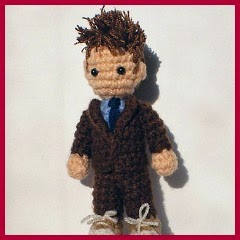 Doctor Who amigurumi