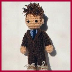 Doctor Who amigurumi