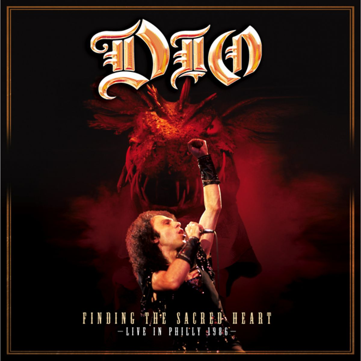 Dio Finding The Sacred Heart Live In Philly 1986 Cd
