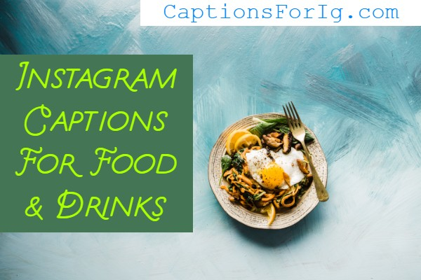 Captions-For-Foods