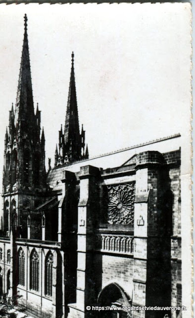 Photo ancienne de Clermont-Ferrand la cathédrale