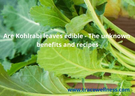 Are Kohlrabi leaves edible