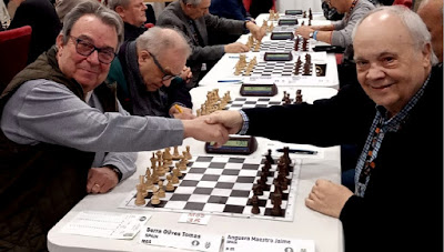 PArtida de ajedrez Tomàs Serra Olives - Jaume Anguera, 2019