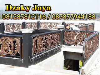 Pemasangan Railing Balkon Klasik wilayah Bandung