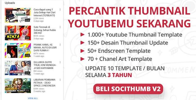 Cara Percantik Thumbnail Youtube