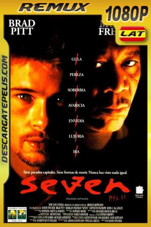 Seven: Pecados capitales (1995) 1080p BDRemux Latino – Ingles