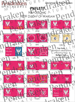 PNFL517   Duchy of Warsaw flags