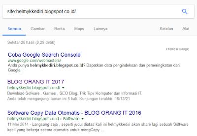 Penyebab dan Cara Mengatasi Deindex Google