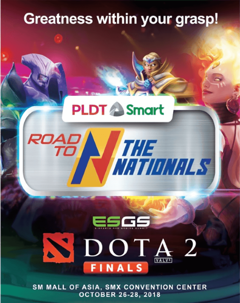 PLDT and Smart prepare for Road to the Nationals