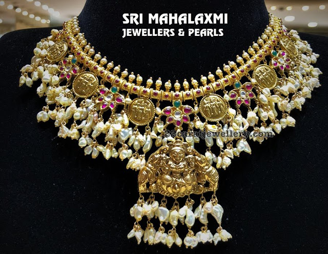 Ramparivar Gutta Pusalu Necklace