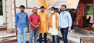 श्री राम मंदिर के लिए युवाओं में खासा उत्साह, सत्यम सिंह तन्नू ने पांच सौ लोगों में वितरित किया प्रसाद | #NayaSaveraNetwork