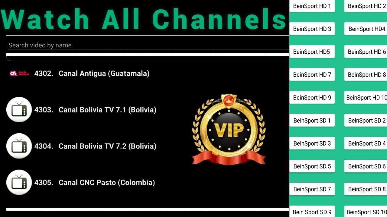 تطبيق iptv مجاني لمشاهدة اكثر من 5000 قناة مجانا
