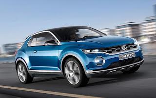 Volkswagen T-Roc Convertible Concept
