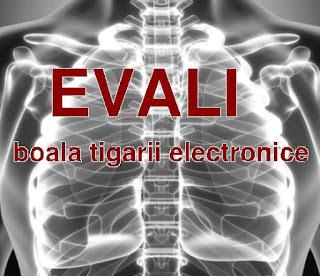 boala provocata de tigara electronica