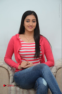 Telugu Actress Mouryani Latest Pos in Blue Denim Jeans  0176.JPG