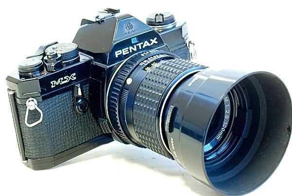 Pentax MX, SMC Pentax 100mm f/2.8